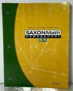 Saxon Math 6/5 Tests And Worksheets By Stephen Hake And Saxon Publishers Staff