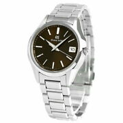Grand Seiko Heritage Collection Sbgv237 Brown Dial 9f82 Watch 39mm Menand039s