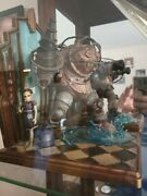 Bioshock Big Daddy And Little Sister Figure, New, With Box And Certificate