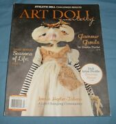 Art Doll Quarterly Magazine Aug Sept Oct 2016 Glamour Ghouls Halloween Zombies