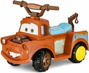 Kid Trax Toddler Disney Cars 3 Tow-mater Electric Quad Ride On Toy Kids 1.5-3 Y