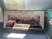 Rare Snap-on Tools 1950and039s Garage Display And Matching Vehicles Set 124 Diecast