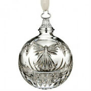 Waterford Crystal Times Square 2013 Peace Ball Christmas Ornament New 156475