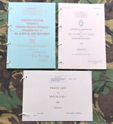 Lee Enfield .303 No. 4 And No. 5 Jungle Carbine Pamphlet Manual And Parts Lists