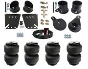 3/8 Front And Rear Air Ride Suspension Air Lift D2500 For 1958-64 Impala Caprice
