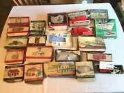 Lot Of Plasticville Scale Buildings - Plus Atlas And American Flyer - 22 Boxes