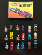 Vintage Hot Wheels Collection Set With Collector's Race Case Year 1967 1968 1969