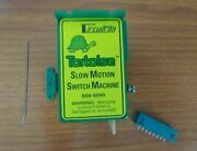 Circuitron 800-6000 Tortoise Switch Machine Slow Motion – With Card Edge Connec