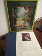 Precious Moments Chapel Hallelujah Square 1993 Framed Print By Sam Butcher