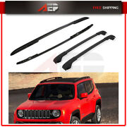 Roof Rail Cross Bars For 2015-2018 Jeep Renegade Side Rack Luggage Cargo
