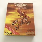 Nova Ace Of Aces - Wwi Air Combat Game Handy Rotary Deluxe Ed Game