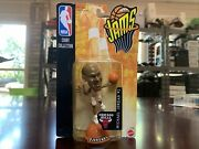 New 1998 Mattel Nba Jams Action Figure Michael Jordan White And Red Factory Sealed
