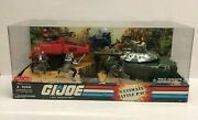 2008 Hasbro Gi Joe Ultimate Battle Pack With Mobat Tank And 7 Action Figures New
