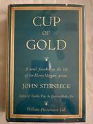 John Steinbeck / Cup Of Gold Life Of Sir Henry Morgan Buccaneer 1st Edition 1937