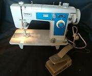 Vintage Brother Sewing Machine Project 121 W/ Foot Pedal
