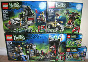 2012 Monster Fighters Lego 9461 9462 9463 9464 And 9466 Lot 5 Retired Canadian