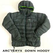 Arcand039teryx Cerium Sv Down Jacket Outer Size S