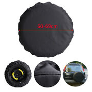 For 205/70r15 24- 27 Spare Tire Cover Pu Rv Wheel Cover All Weather Resisiant