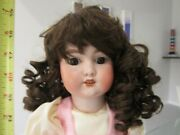 Antique Armand Marseille Rosebud Doll .family Owned Since Early 1900andrsquos