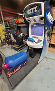 Arctic Thunder Snowmobile Arcade Driving Racing Video Game Machine Works Great