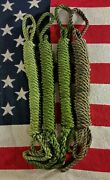 Vietnam Extraction Rucksack Rope Coil Swiss Seat Airborne Military Safety Rope