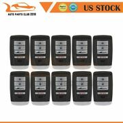 10 Keyless Entry Remote Fob For Acura Rdx Mdx 3.5l 2014 2015 2016 2017 2018 2019