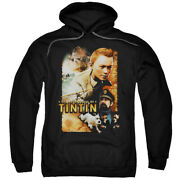 The Adventures Of Tintin Adventure Poster Pullover Hoodie Or Long Sleeve Tee
