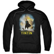The Adventures Of Tintin Movie Poster Pullover Hoodie Or Long Sleeve Tee