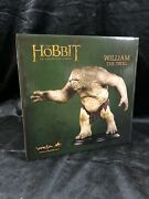 Weta Lord Of The Rings -the Hobbit William The Troll Statue Mini Bust Figurine