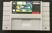 Biometal Authentic Snes Super Nintendo Game Tested. Rare. Free Shipping