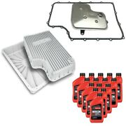 Oem Ford 6r140 Transmission Service Kit And Ppe Raw Deep Pan For 11-19 F-250/f-350