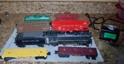 Marx 666 Steam Locomotive Train Set O Scale With 6 Cars Tender And Transformer