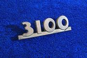 Vintage 1947 1953 Chevy Pickup Truck 3100 Hood Emblems Badge Accessory 3692106