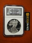 2000 P Proof Silver Eagle Ngc Pf69 Ultra Cameo And03920th Ann Collectionand039 Black Label