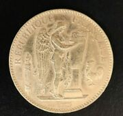 France 1911a 100 Francs Tougher French Large Gold Coin B41