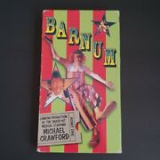 Barnum Vhs Movie Video Musical Michael Crawford Tested