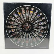 Past Times Jigsaw Puzzle 500 Piece Double-sided Rose Window St Maurice Cathedral