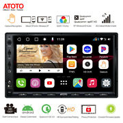 Atoto 7inch Double Din Car Stereo Nav Sys Built-in 4g/dual Bluetooth/gps-4gb/64g