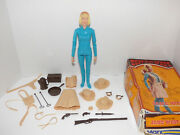 Marx Best Of The West Jane West Figure With Box And Accessories