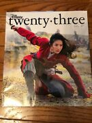 Disney D 23 Exclusive Issue Magazine Mulan Spring 2020 Edition New