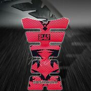 Resin Fuel/gas Tank Pad Protector Decal/bike Sticker Yoshimura Red Carbon Look