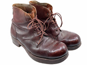 Ww2 British Combat Ankle Boots Wd Marked