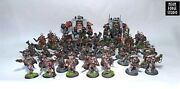 Wh40k Space Marines Army Blood Angels Commission 2k Pts Dreadnought Intercessor