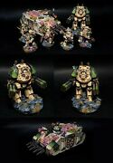 Wh40k Death Guard Army Plague Marines Rhino Chaos Space Marines Commission
