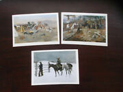 Lot Of 3 Amon Carter Museum Of Western Art Fort Worth Texas Postcards