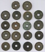 Collection Of Old China Cash Coins | Bulk Coins | Pennies2pounds