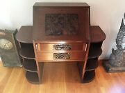Antique Chinese Secretary Desk From Singapore