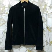 L.h.p Single Riders Jacket Pig Leather Black Ue-13aw-009 Pre-owned