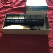 Athearn Ho Scale Norfolk And Western Frozen Food Gondola Kit 1676 Brand New