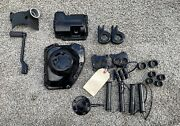 Harley Davidson Twin Cam Parts Lot Used Oem Powder Coated Items Dyna